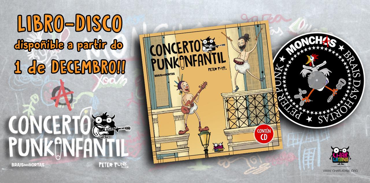 Libro - Disco Concerto PunkInfantil